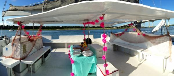 Party Setup on Pau Hana